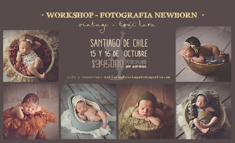 WORKSHOP DE FOTOGRAFIA DE RECIEN NACIDOS...CHILE
